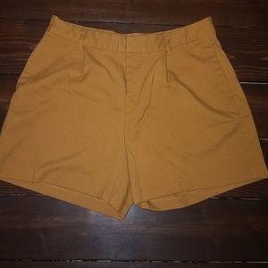 Old Navy Mustard Shorts